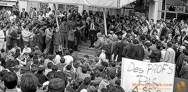 Kanai 1968 m., Revoliucija ant raudono kilimo: kai festivalis buvo priblokštas Prancūzijos gegužės jaunimo