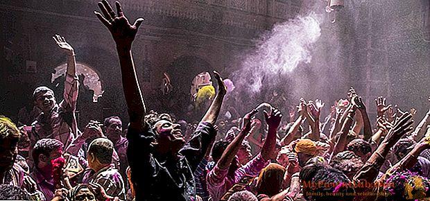 ¿Qué es Holi la batalla de colores con la que India, en estos días, se despide del invierno?