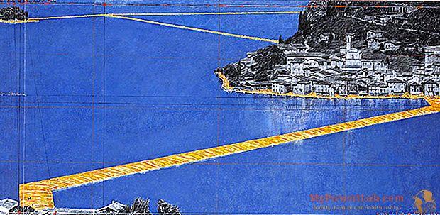 Christo llega a Italia ... y caminará sobre las aguas (del lago Iseo)
