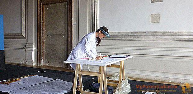 La restauración en Italia es una mujer.