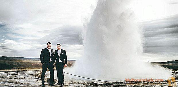 أنا وأنت والسخان. أيسلندا هي وجهة مفضلة لزواج المثليين