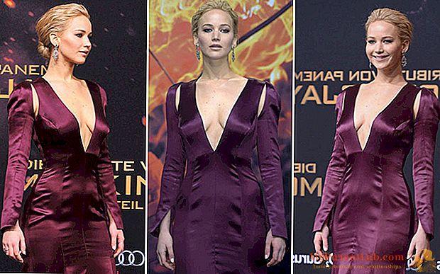 """Jennifer Lawrence preciosa en el estreno de """"Los juegos del hambre"""""""