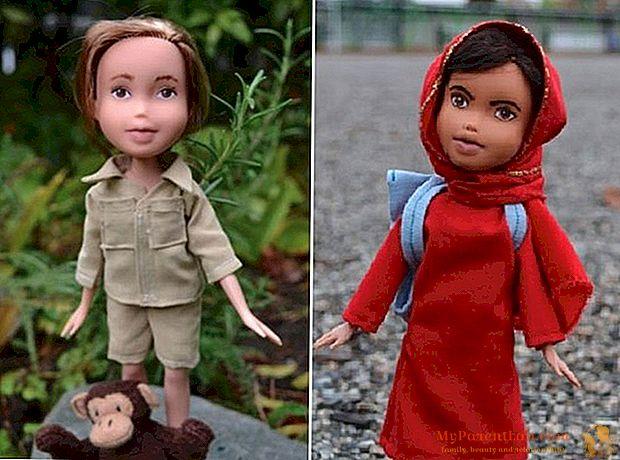 Mighty Dolls: las muñecas sexistas se convierten en mujeres modelo.