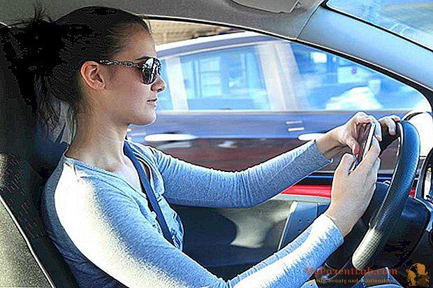 Keamanan jalan: apakah Anda menyetir dengan mata tertutup?