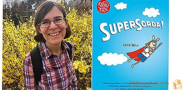 'Supersorda!' oleh Cece Bell, kisah khusus seorang gadis normal