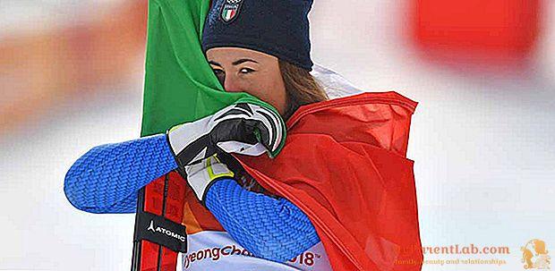 """انهيار جليدي """"وردي"""" في التزلج: صوفيا جوجيا ، بعد الميدالية الذهبية الأولمبية في كوريا ، تفوز بكأس العالم"""