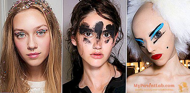 El carnaval está de moda: 40 ideas de maquillaje de los desfiles de moda Primavera Verano 2016