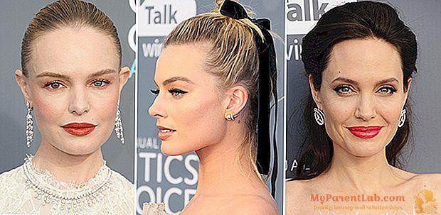 Premios Critics 'Choice: los mejores looks de belleza.
