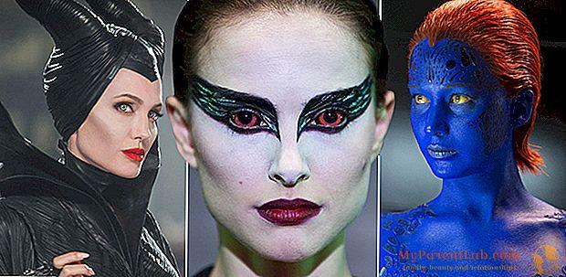 ハロウィーン2015:魔女の化粧は映画館からコピーされます