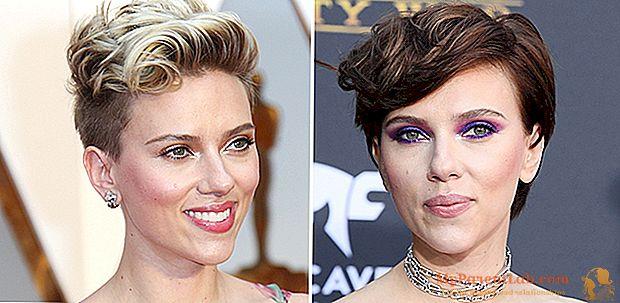 """O novo estilo de cabelo de Scarlett Johansson: da loira ao preto com o marrom """"Hearty Brown"""""""