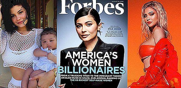 フォーブスの表紙でカイリージェンナー:彼女はアメリカの億万長者の中で最年少