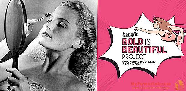 眉? 「女性に力を与えるジェスチャー」。 Annie Ford of Benefit化粧品とのインタビュー