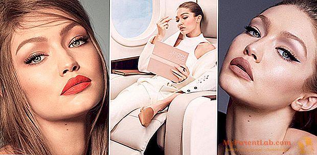 En la lección de maquillaje (fácil y rápido) por Gigi Hadid