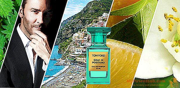 الرائحة: توم فورد سون من بوسيتانو. رائحة البحر