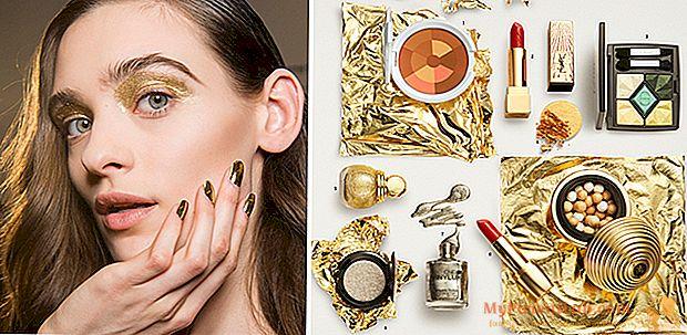 Oro y metales: el maquillaje del invierno (y las vacaciones) brillará más que nunca.