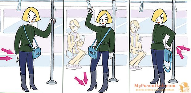 Ajuste sin un gimnasio. Tres ejercicios para hacer en transporte público.