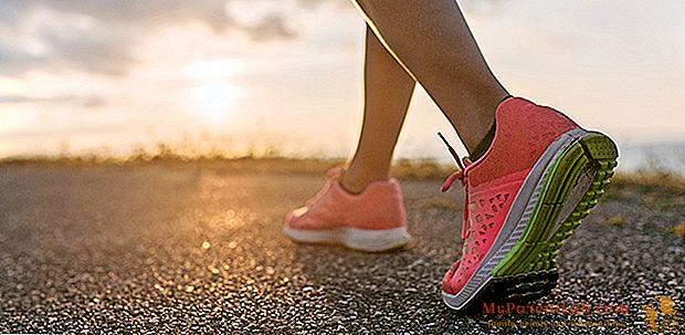 私は走ります。スプリントは靴から始まります