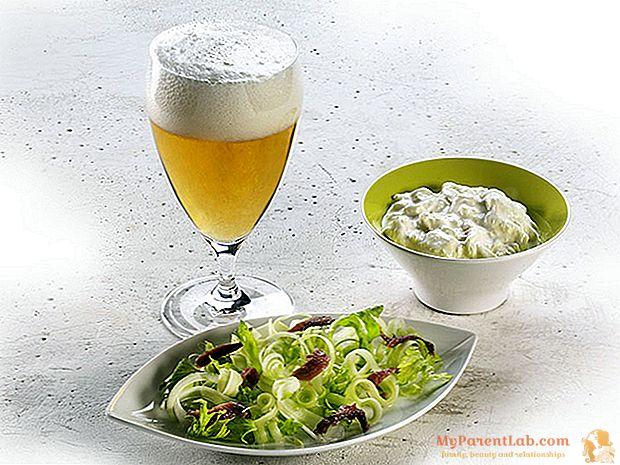 """Para mí una cerveza: la receta """"cruda""""."""