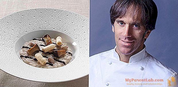 Borlotti ، الزيتون Taggiasca ، cardoncello والأرز في شكلين