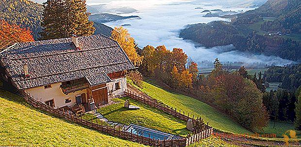 Nuo Dolomitų iki Etnos: aštuoni svajonių namai vėlyvai vasaros atostogoms