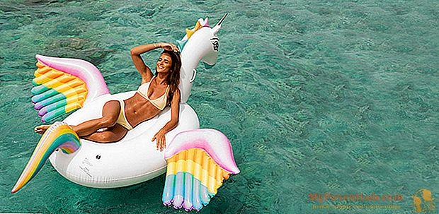 """El chic """"deriva"""" de los inflables marinos (y piscina) 2016"""