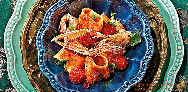 Tuccino-Rezept von Paccheri mit Scampi und Igelfleisch