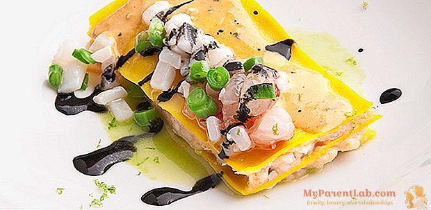 Meri lasagna valkoinen, persilja kastike ja kalkki