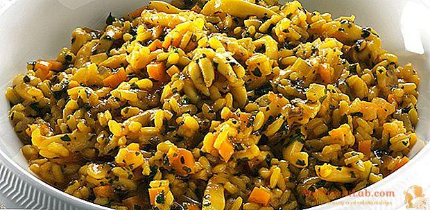Bio-Reis: 6 Rezepte (Völlerei), um es auf den Tisch zu bringen