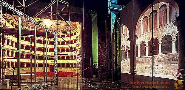 カーテンの上:ペーザロ、スポレート、チッタディカステッロの間の祭りと芸術