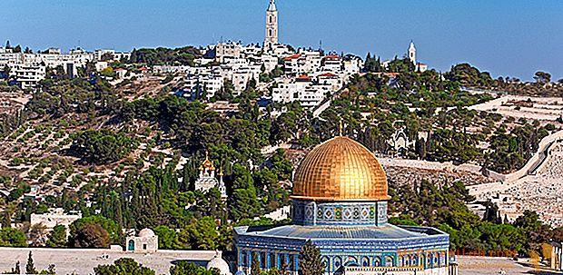 Matka Jerusalemiin ja Tel Aviviin. löytää Israelin kaksi sielua