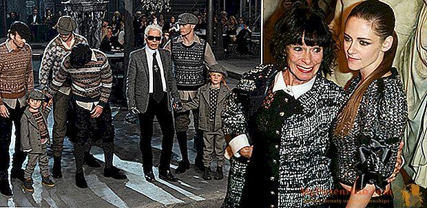 Chanel menunjukkan di Roma, fashion & bintang di Cinecittà