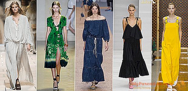 夏の夜の着こなし方:ファッションショーからの20ドレス