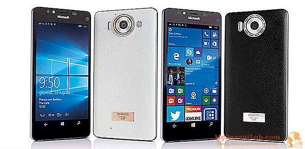 Damiani و Microsoft ، أغطية الهاتف الذكي المخصصة