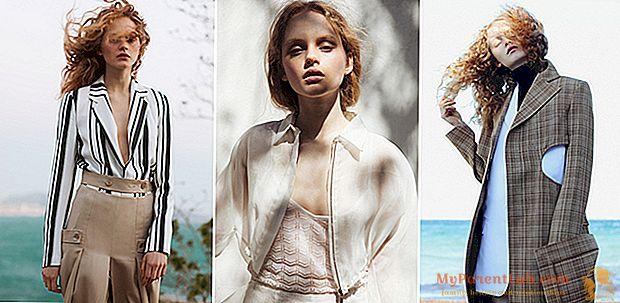中断された瞬間:ファッションは天然素材と色を選びます