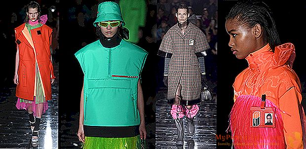 Fluo womanとPradaのMilan Fashion Weekでの未来への回帰