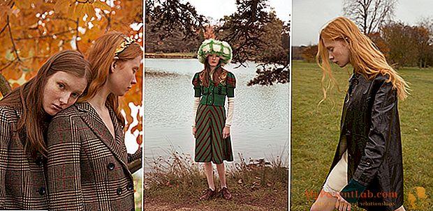 الأزياء مستوحاة من ألوان الأرض