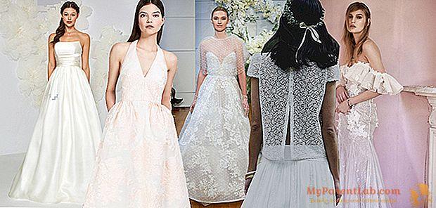 הכללים לבחירת שמלת החתונה המושלמת ואת הטוב ביותר של 2018 אוספים