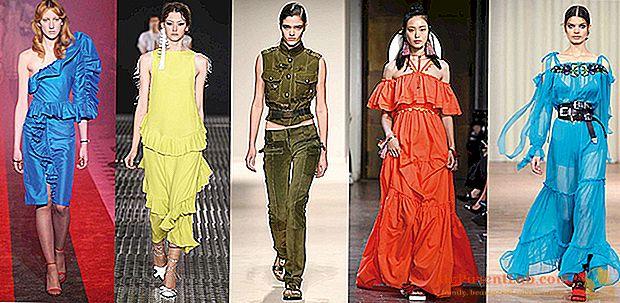 Milan Fashion Week 2016: tendencia a todo color, un color de la cabeza a los pies