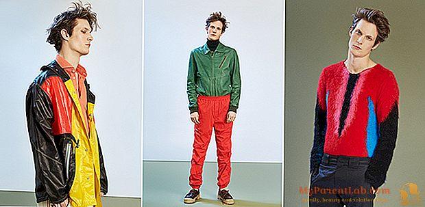 Moda masculina. Una mezcla de colores y tejidos (preferentemente técnicos).