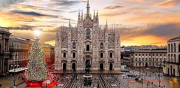 باندورا تضيء عيد الميلاد في ميلانو