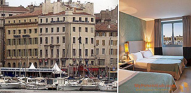 Cuatro estrellas en el corazón de Marsella