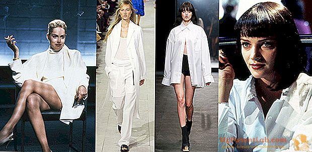 Desfiles de moda de Nueva York: blanco desde el cine hasta la primavera / verano 2016 pasarelas