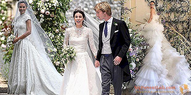 Sueño de vestidos de novia. El estilo de las estrellas de Pippa a Alessandra de Osma.