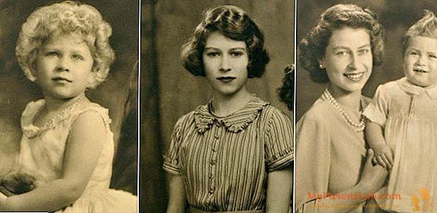 Em leilão as fotos inéditas da menina Elisabetta