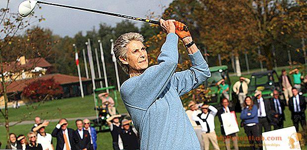 """Allegra Agnelli: """"Mis pasiones, el golf y la investigación del cáncer"""""""