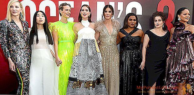 "Oceanの8人はSandra Bullock、Cate Blanchett、Rihanna、そして ""バンド""の他の人たちと一緒にやってくる。"
