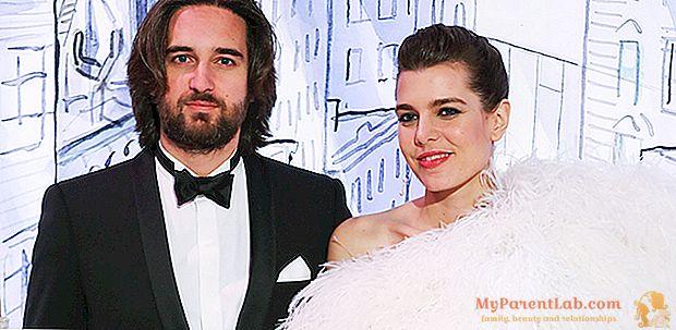 2018 كرة روز: شارلوت كاسيراغي وديميتري راسام لاول مرة كزوجين. العرس في الصيف