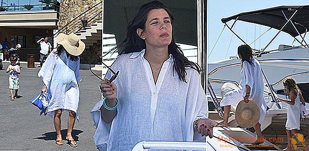 Charlotte Casiraghi embarazada en St-Tropez