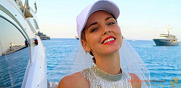 Chiara Ferragni merayakan pesta lajang di Ibiza. Dan Fedez tinggal di rumah bersama Leone, anak mereka
