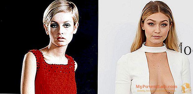 TwiggyからHadid姉妹へ:半世紀のトップモデル